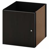 КАЛЛАКС Вставка с дверцей,черно-коричневый